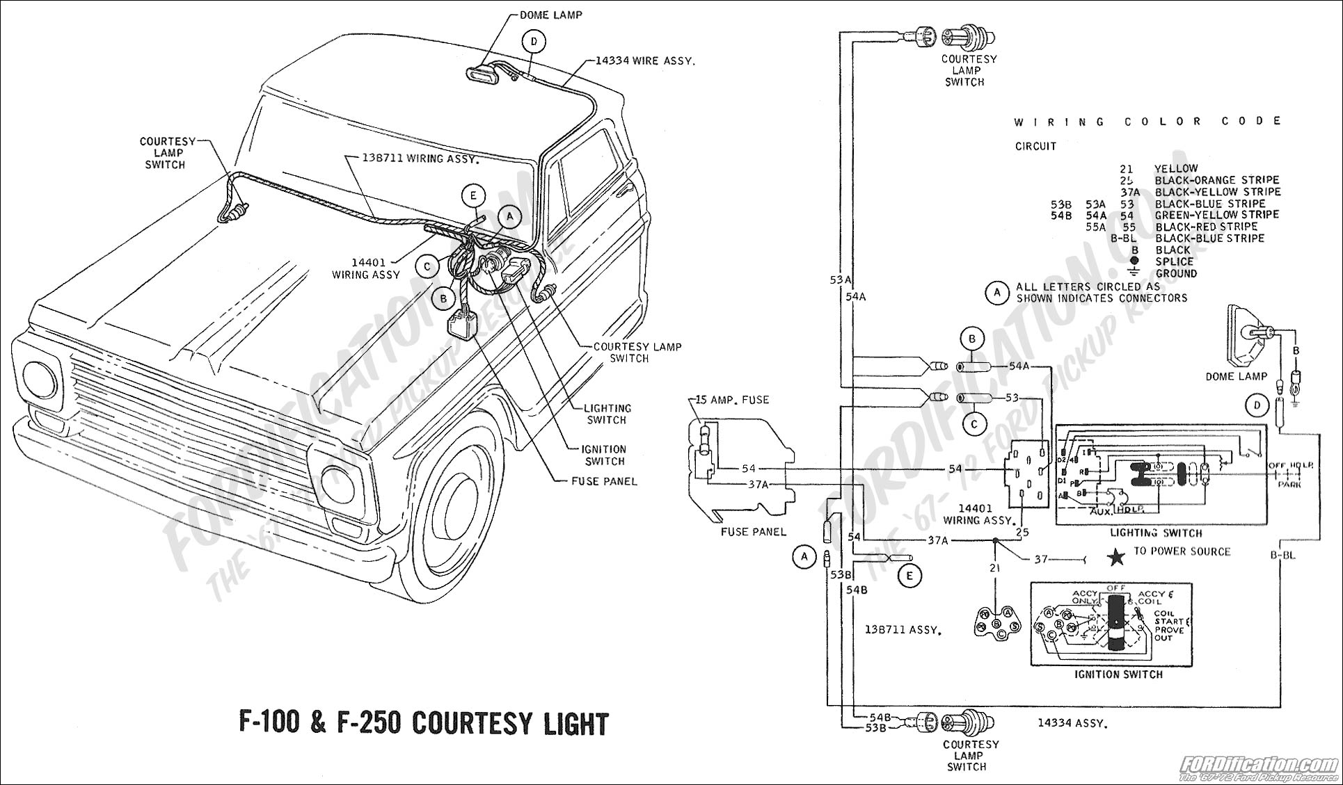 57 F100 Custom Cab Wiring Diagram Ford Truck Enthusiasts