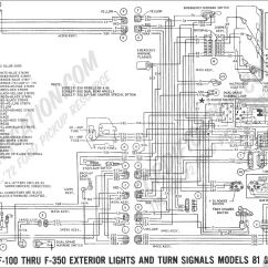 99 F350 Headlight Wiring Diagram 6 Pin Momentary Switch Ford Truck Technical Drawings And Schematics Section H