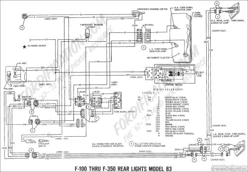 small resolution of ford truck technical drawings and schematics section h 1965 chevy c10 dash wiring diagram 1965 chevy