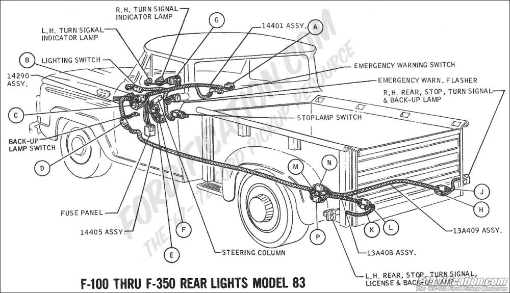 medium resolution of 1965 ford mustang turn signal wiring schematic