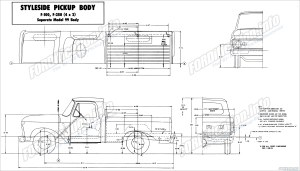 Ford Truck Body Builders Layout Books  FORDificationinfo  The '61'66 Ford Pickup Resource