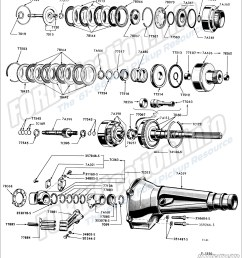 drivetrain schematics fordification info the 61 66 ford pickup fordomatic transmission diagram [ 1500 x 1667 Pixel ]