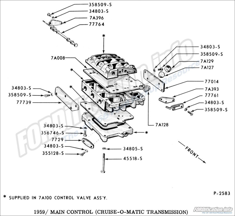 medium resolution of 1959 main control cruise o matic transmission