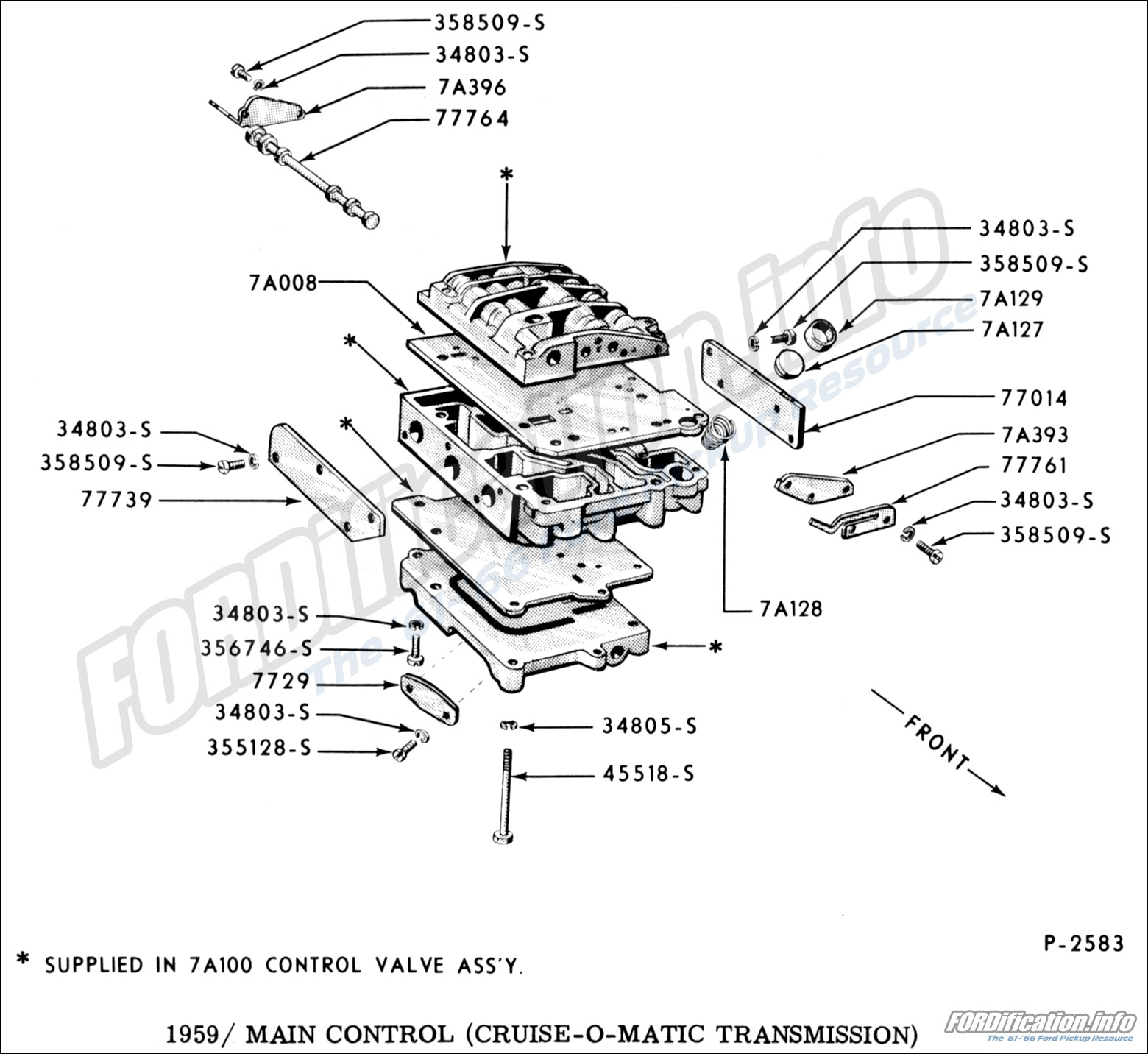 hight resolution of 1959 main control cruise o matic transmission