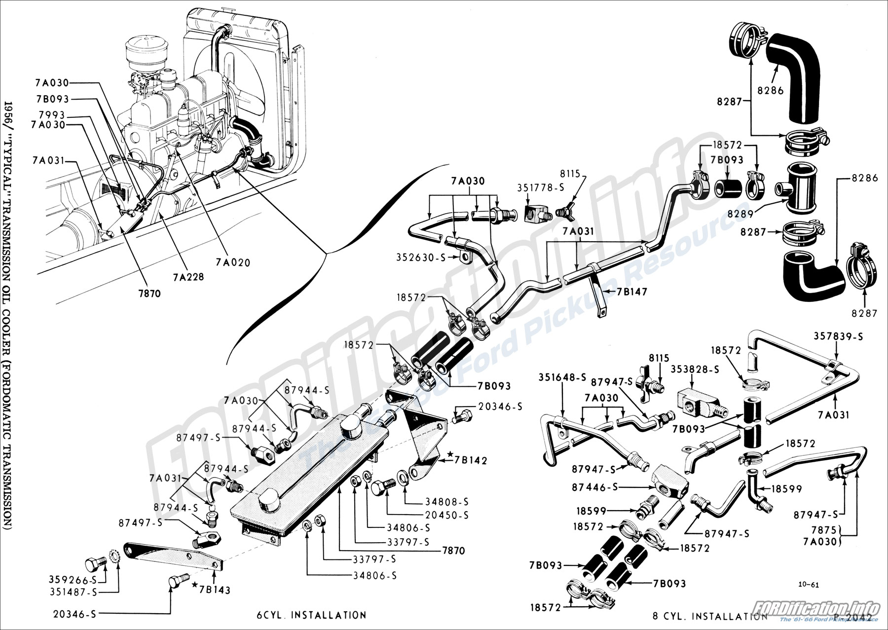 hight resolution of drivetrain schematics fordification info the 61 66 ford pickup fordomatic transmission diagram