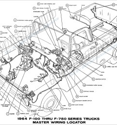 64 ford truck wiring data schematic diagram 64 ford truck wiring [ 2994 x 2038 Pixel ]