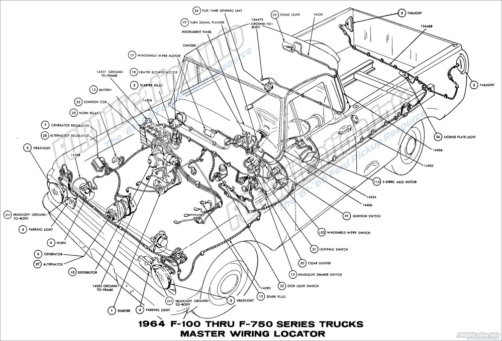 medium resolution of 64 ford truck wiring data schematic diagram 64 ford truck wiring