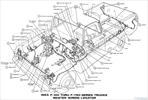 small resolution of 64 ford truck wiring data schematic diagram 64 ford truck wiring