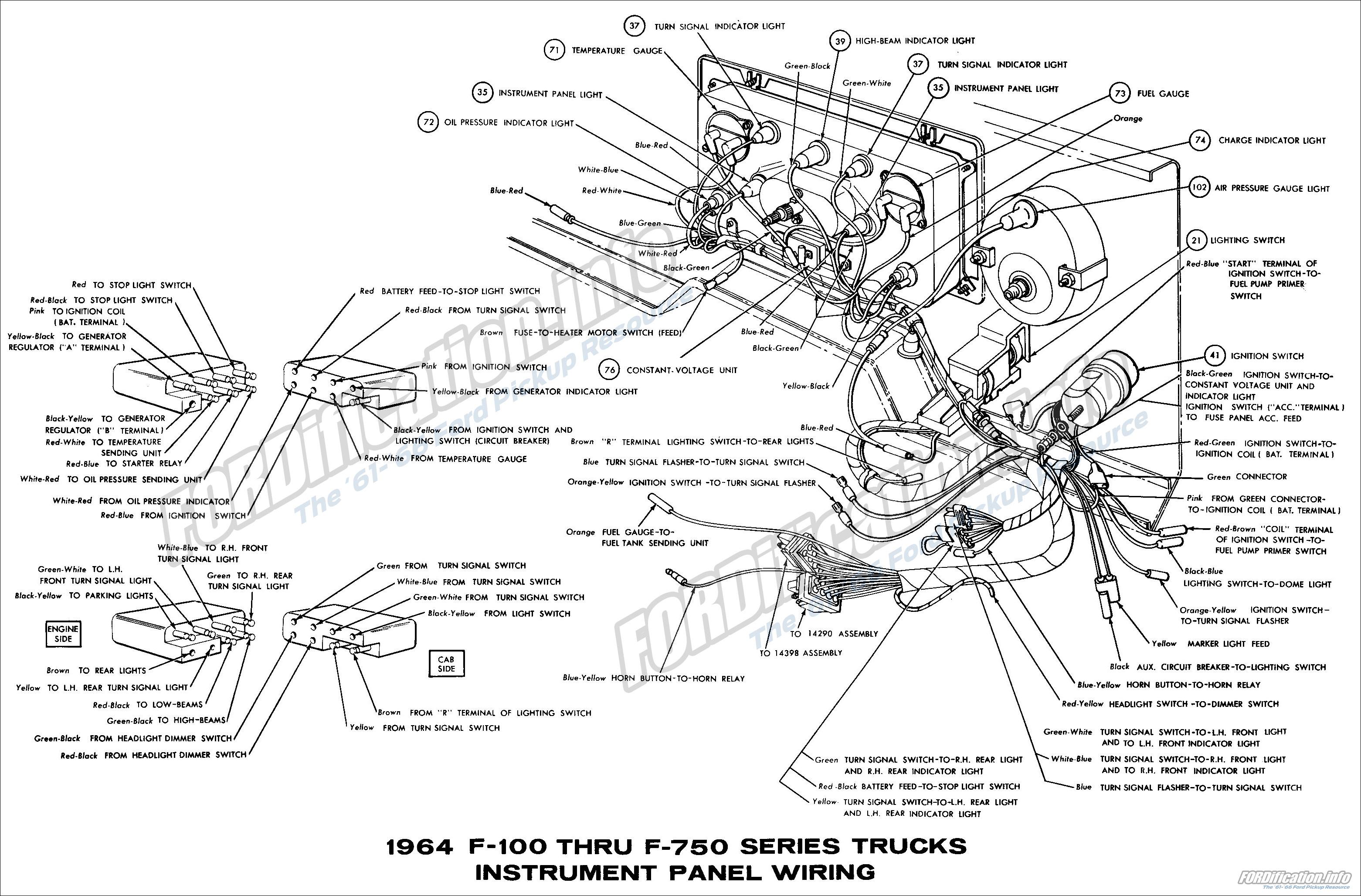 64 ford f100 wiring