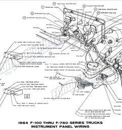 1964 ford truck wiring diagrams fordification info the u002761 u0027661964 f100 thru f750 series [ 3123 x 2056 Pixel ]