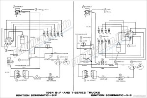 1964 Ford Truck Wiring Diagrams  FORDificationinfo  The