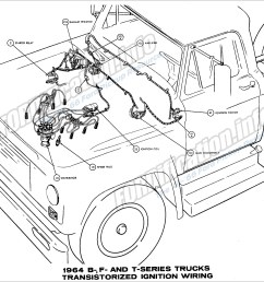 1964 ford truck wiring diagrams fordification info the u002761 u0027661964 b f and [ 2672 x 2096 Pixel ]