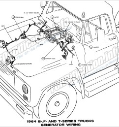 1964 ford truck wiring diagrams fordification info the u002761 u0027661964 b f and [ 2697 x 2089 Pixel ]