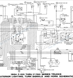 1964 ford truck wiring diagrams fordification info the 61 66 1964 f100 thru f750 [ 3033 x 2044 Pixel ]