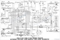1953 Ford F100 Wire Diagram  Wiring Diagram For Free