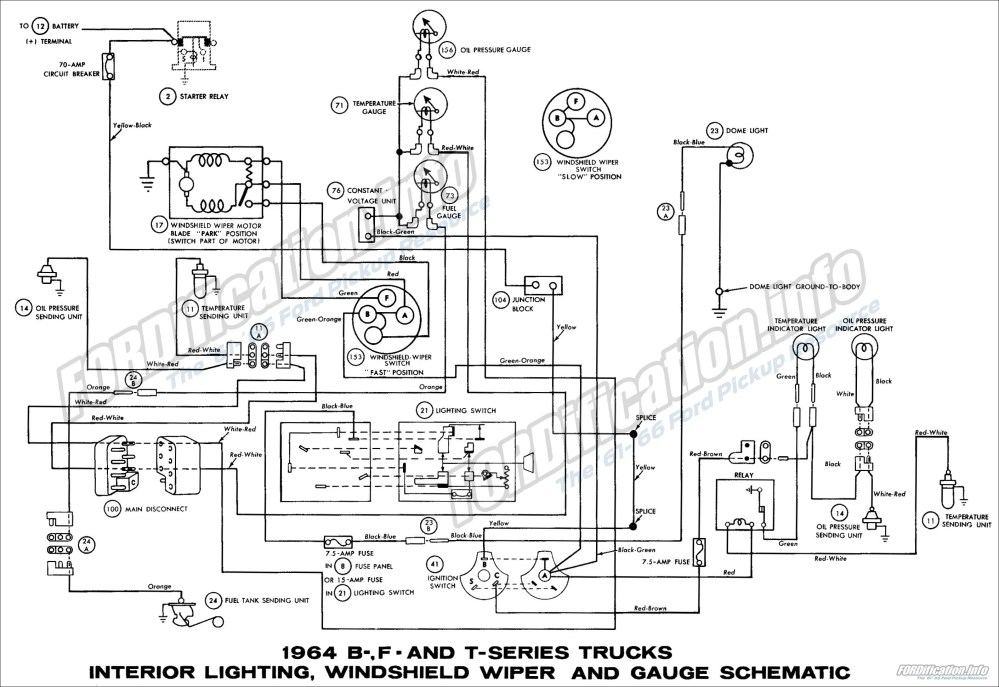 medium resolution of 1964 ford truck wiring diagram on 65 mustang lights wiring diagram 1964 ford wiring wiring diagram