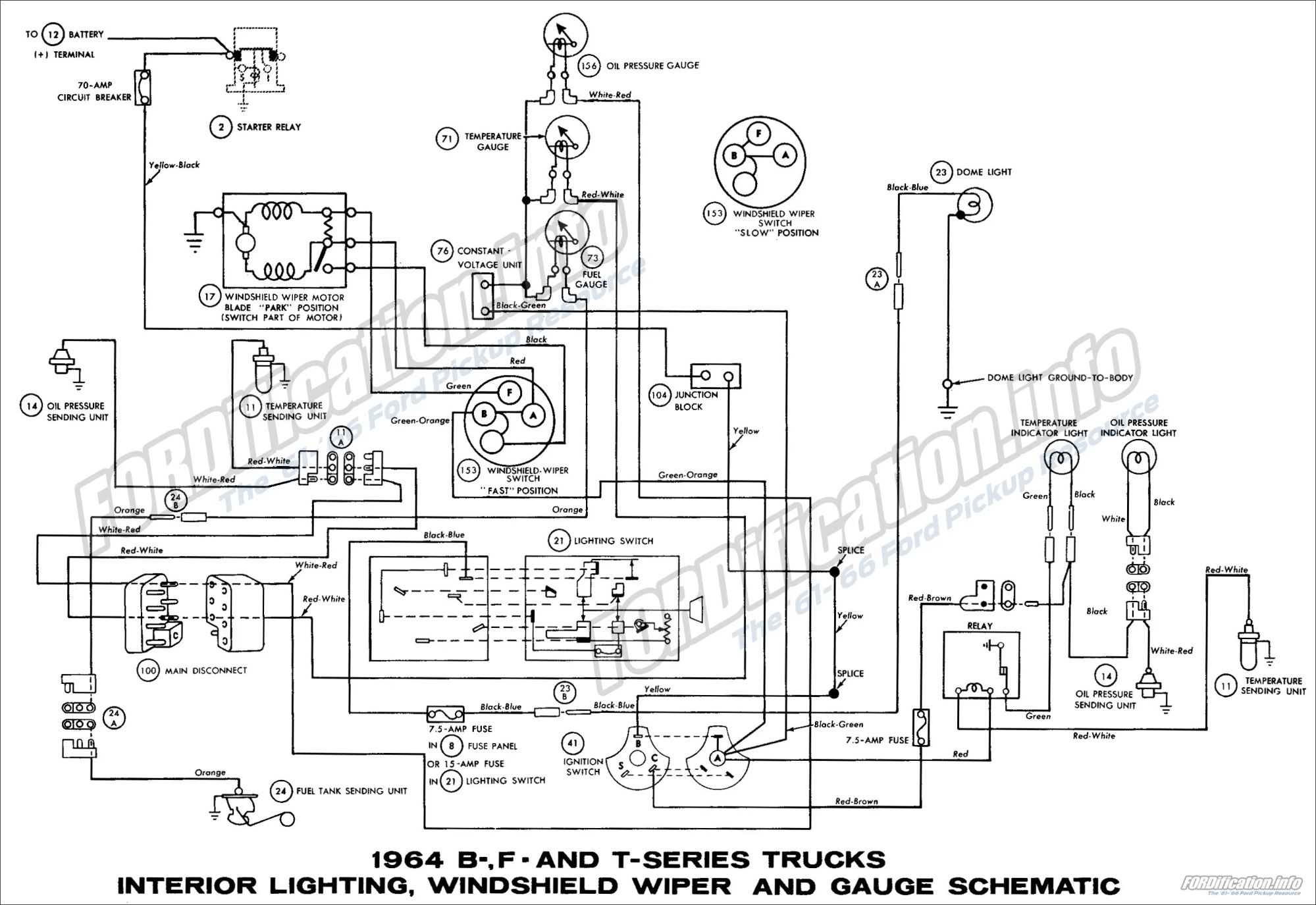 hight resolution of 1964 ford truck wiring diagram on 65 mustang lights wiring diagram 1964 ford wiring wiring diagram