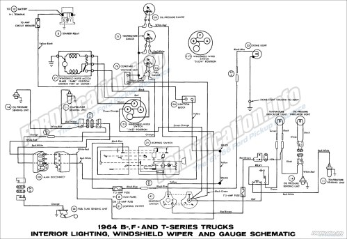 small resolution of 1964 ford truck wiring diagrams fordification info the 61 66 1964 ford truck wiring