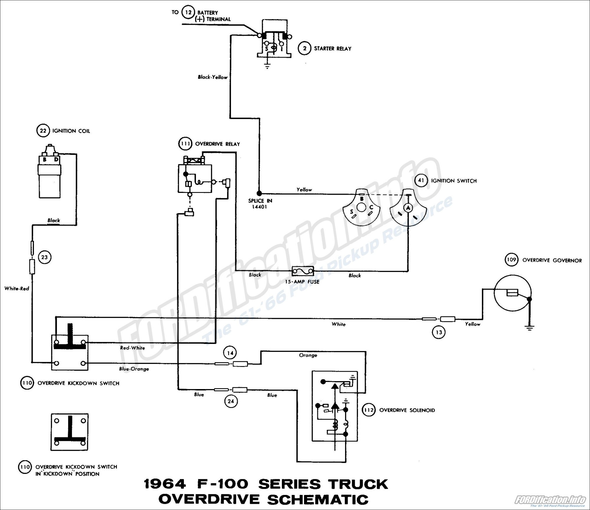 hight resolution of 1964 ford truck wiring diagrams fordification info the 61 66 1963 ford falcon wiring