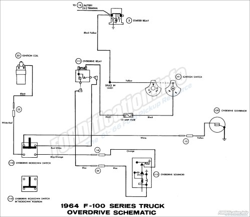 small resolution of 1964 ford truck wiring diagrams fordification info the 61 66 1963 ford falcon wiring