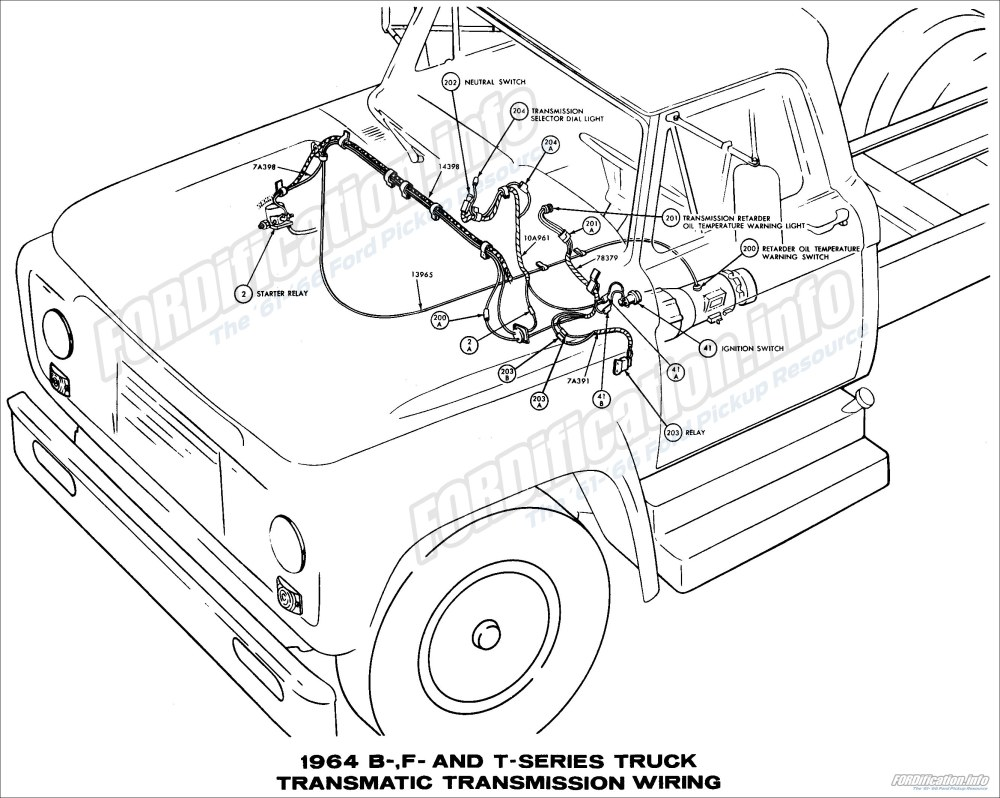 medium resolution of 1964 ford truck wiring diagrams fordification info the 61 66 ford pickup resource
