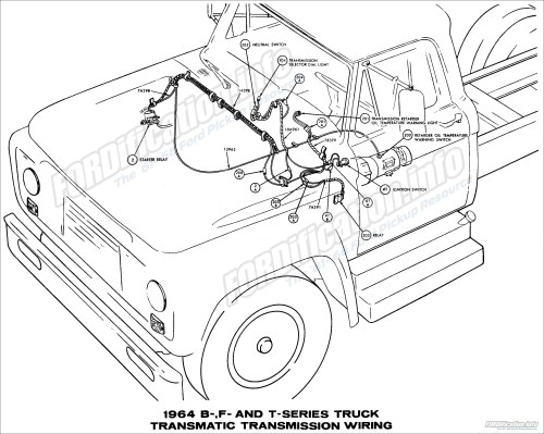 small resolution of 1964 ford truck wiring diagrams fordification info the 61 66 ford pickup resource