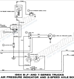 ford b f tseries trucks 1964 fuel pump schematic diagram all 1964 ford truck wiring diagrams fordification [ 2860 x 1772 Pixel ]