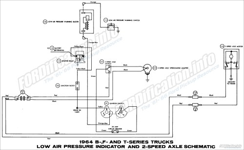 small resolution of 1964 ford truck wiring diagrams fordification info the 61 66 transmatic transmission schematic diagram of 1964 ford b f and t series trucks part 1