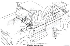 1964 Ford Truck Wiring Diagrams  FORDificationinfo  The '61'66 Ford Pickup Resource