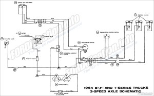 1964 Ford Truck Wiring Diagrams  FORDificationinfo  The