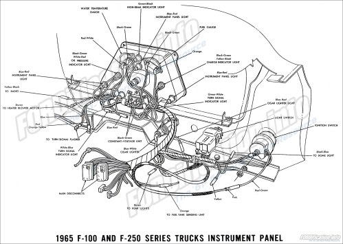 small resolution of 1965 ford truck wiring diagrams fordification info the 61 66 1965 f 100 and