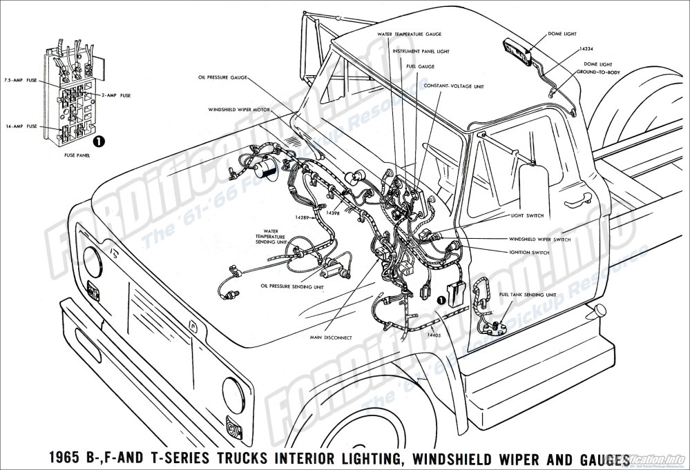 medium resolution of 1965 ford truck wiring wiring diagram basicfor a 1965 f100 wiring 14