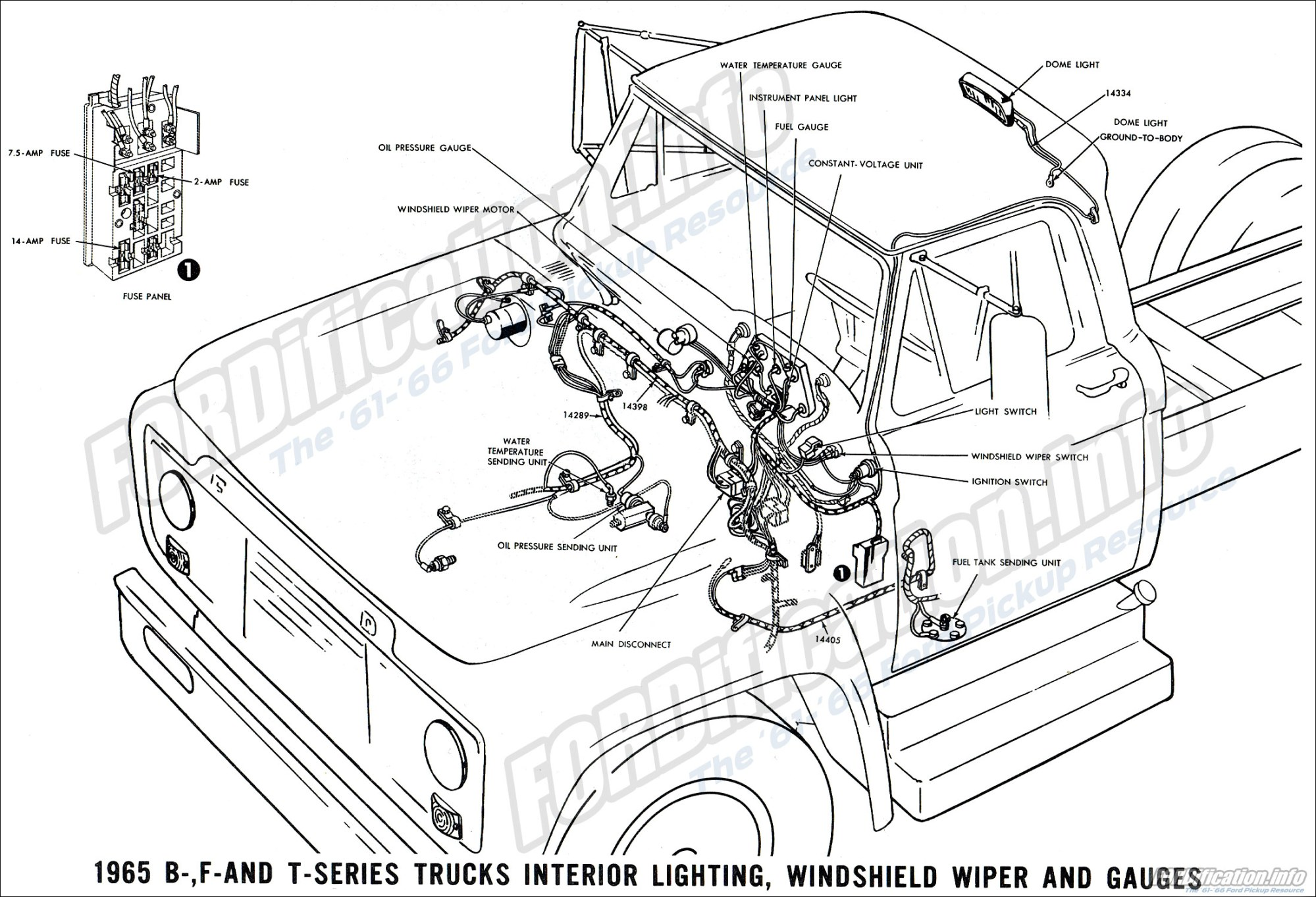 hight resolution of 1965 ford truck wiring wiring diagram basicfor a 1965 f100 wiring 14