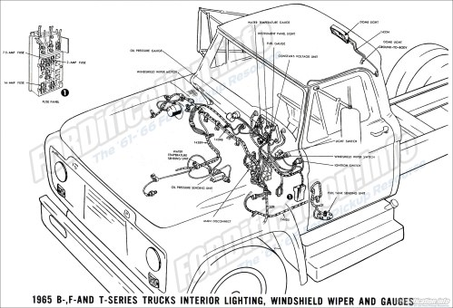 small resolution of 1965 ford truck wiring wiring diagram basicfor a 1965 f100 wiring 14