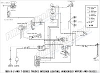1966 Ford Pick Up Wiring Diagram  Wiring Diagram For Free