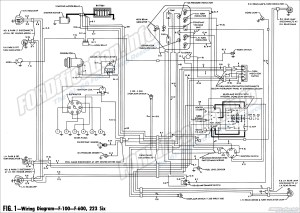 1961 Ford Truck Wiring Diagrams  FORDificationinfo  The