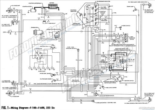 1961 ford truck wiring diagrams fordification info