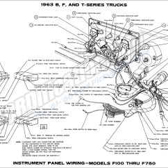 1963 Ford F100 Wiring Diagram Vauxhall Astra Truck Diagrams Fordification Info The