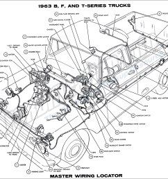1962 ford truck wiring diagram online schematics diagram rh delvato co 1963 ford 1964 ford fairlane [ 1900 x 1376 Pixel ]