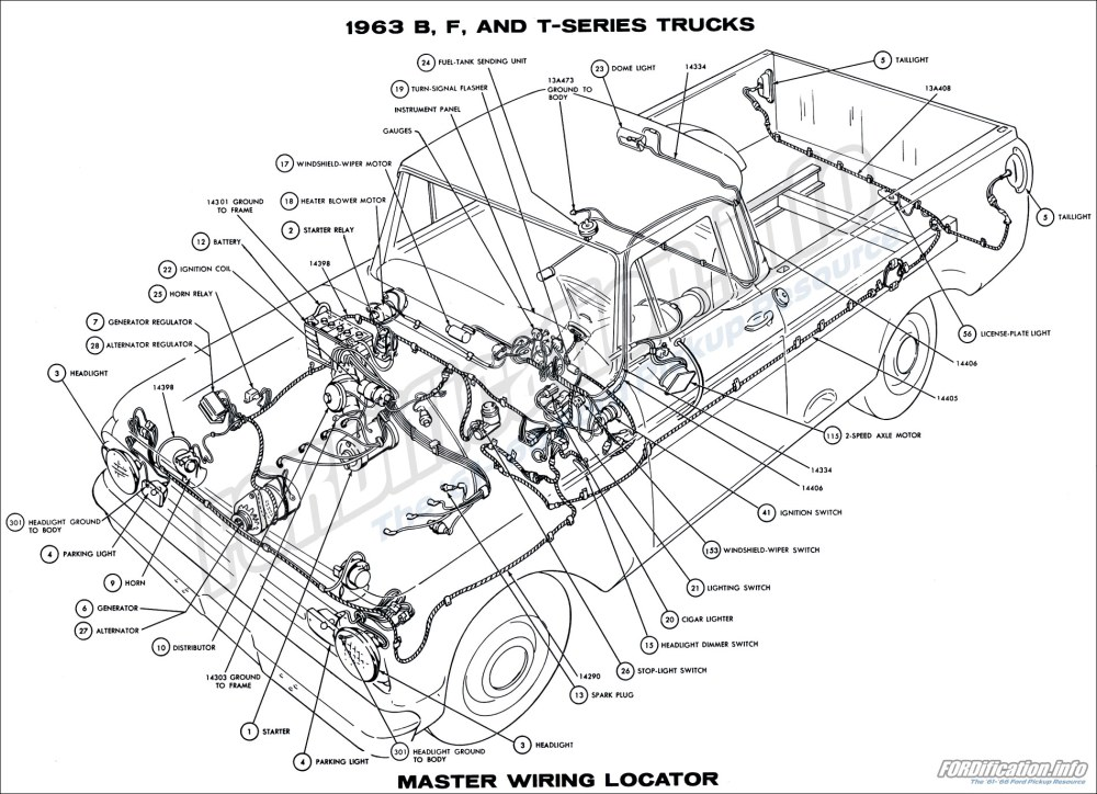 medium resolution of 1962 ford truck wiring diagram online schematics diagram rh delvato co 1963 ford 1964 ford fairlane