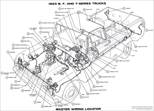 small resolution of 1962 ford truck wiring diagram online schematics diagram rh delvato co 1963 ford 1964 ford fairlane