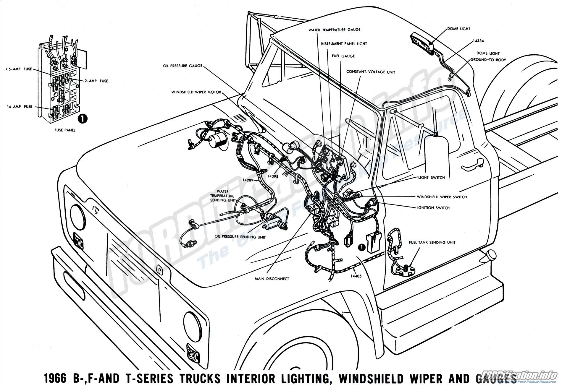 1962 F250 Lights Wiring : 23 Wiring Diagram Images
