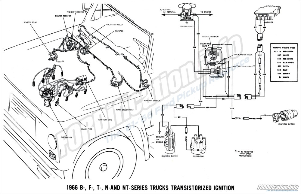 medium resolution of ignition schematic diagram of 1964 ford b f and t series trucks fuel pump schematic diagram of 1964 ford b f and t series trucks