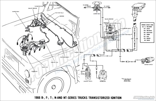small resolution of ignition schematic diagram of 1964 ford b f and t series trucks fuel pump schematic diagram of 1964 ford b f and t series trucks