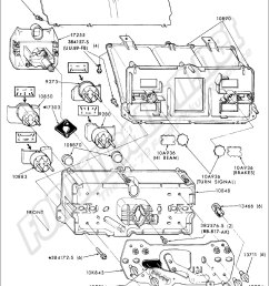 instrument cluster and related parts 1973 1979 f100 350 81 with gauges [ 976 x 1436 Pixel ]