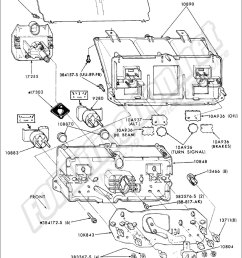 instrumentpanel idiotlights ford truck part numbers instrument panel fordification net 77 ford f100 wiring diagram [ 992 x 1446 Pixel ]