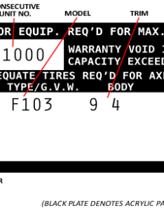 also decoding  ford truck vin tags fordification rh