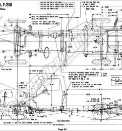 65 f100 frame diagram simple wiring schema 50 f100 1976 ford body builder s layout book fordification [ 1920 x 1273 Pixel ]