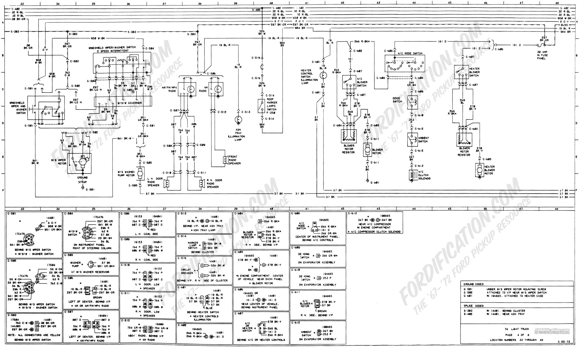 hight resolution of 74 ford electronic wiring diagram about wiring diagram 2002 f650 fuse diagram 1997 ford f750 fuse