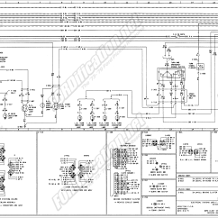 Lamp Wiring Diagram Electrical One Line Software 1973 1979 Ford Truck Diagrams Schematics Fordification Net